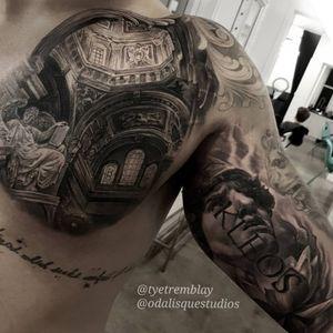 Tattoo by Odalisque Studios