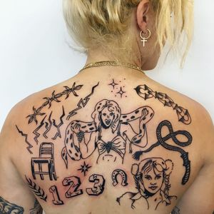 Tattoo by Charline Bataille #CharlineBataille #90stattoos #90stattoo #90s
