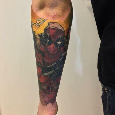 #deadpooltattoo #Deadpool #MarvelTattoos #MarvelTattoo #marvel #comic #comics #marvelcomicstattoo #marvelcomics #MCU #ComicTattoos #comicbook #sleevetattoo #sleeves #sleeve #marvelsleeve #mercwiththemouth