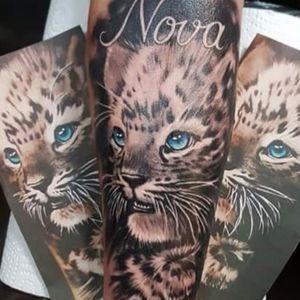 #leopardtattoo #leopardprint #leopard #blackandgreytattoo #blackandgrey #forearmtattoo