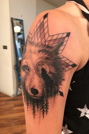 Tattoo by Oglala Lakota County Ink