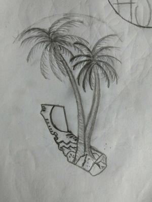 #playa #Palmera #tropical