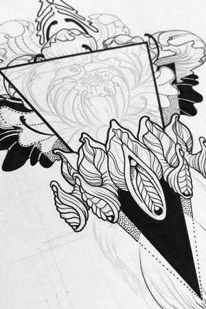 #flower #flowers #drawing #linework #Black #dotwork #sketch #goldcoastaustralia #vagina