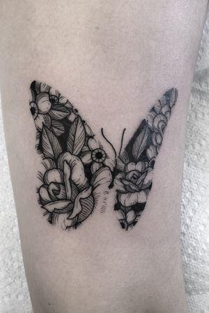 Butterfly floral #tattoo #tattoos #blackandgreytattoos #inkedmag#myinkaddict #lasvegas #tattooworkers #tattooartist  #inked #blacktattoo #tattooart #worldofpencils #artist #floral#floraltattoo #lasvegastattoo #lasvegastattooartist #dotwork #iblackwork #artist #inked #butterflytattoo#blxink #butterfly #peonies#crosshatch#blackworkerssubmission