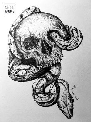 #skulltattoo #skull #tattoodesign