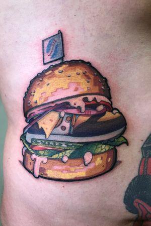 Saucony burger. My design