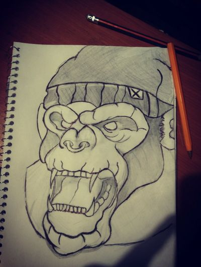 #gorilla #sketch