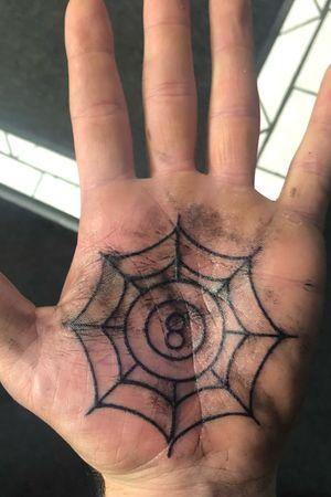 Fresh palm done by Jimmy @ Jade Monkey Wilmington, NC #palm #hand