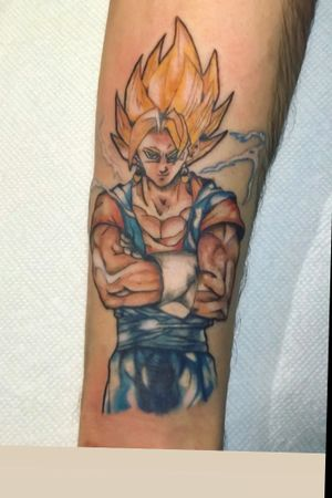Started a new dbz sleeve