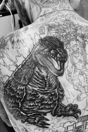 Session 2. 👑King of the Monsters #Godzilla #king #hero