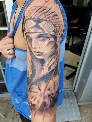 #tat2 #tattedup #tattooartist #blackandgreytattoo