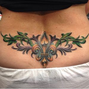 Do people still get tramp stamps? I did this one a few years back.