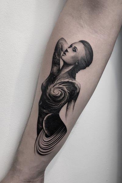 #art #tattooartist #tattoo #tattoos #graphic #ink #inked #tattooed #tattooer #tattooart #photooftheday #blackwork #illustation #tattoopeople # #tattoolife #night #universe #galaxy