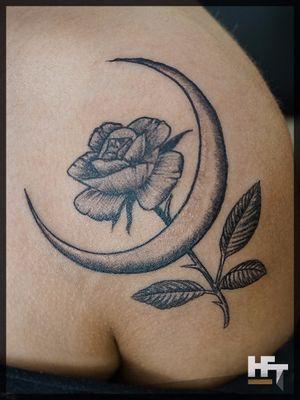 Moon Rose Flower