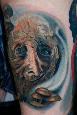 #forestspirit done in 2 sessions, partly #healed
