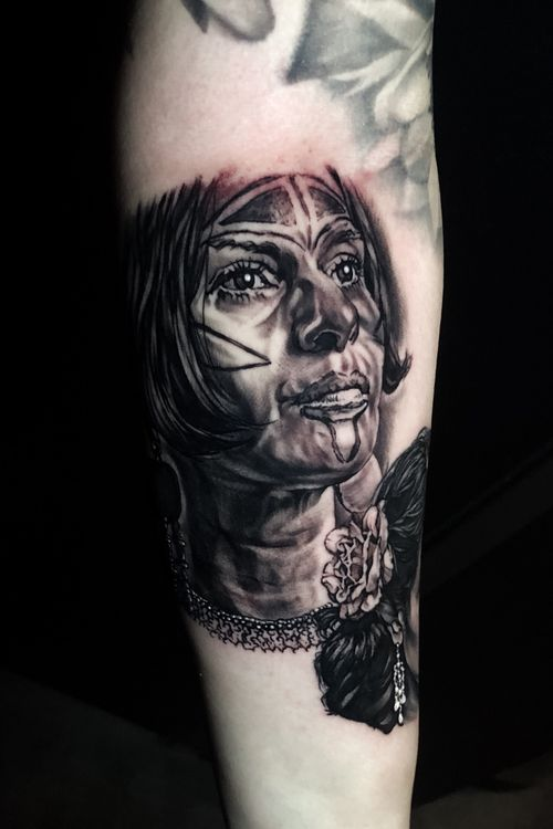 Portrait of a Taino woman #puertorico #nativeamerican #portait #woman #blackandgrey #tattooartist #Austin #ATX #austintexas #Texas #CaliforniaTattoos #california #houston #dallastattooartist #losangeles