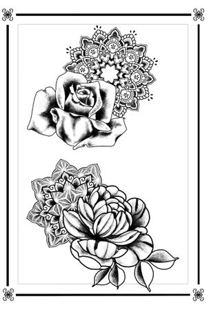 AVAILABLE MANDALA AND FLOWERS SKETCHES - #sketchtattoo #sketch #ornamental #mandala