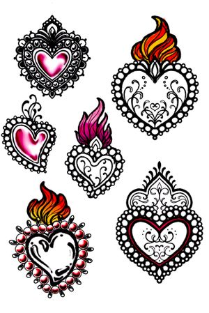 AVAILABLE S.VALENTINES SKETCHES - #sketchtattoo #sketch #ornamental #mandala #heart