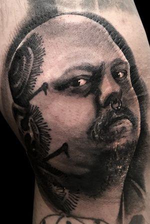 Paul booth. legend artist #legendtattoo #tattooartist #blackink #greywash #empireink