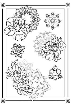 AVAILABLE MANDALA SKETCHES - #sketchtattoo #sketch #ornamental #mandala
