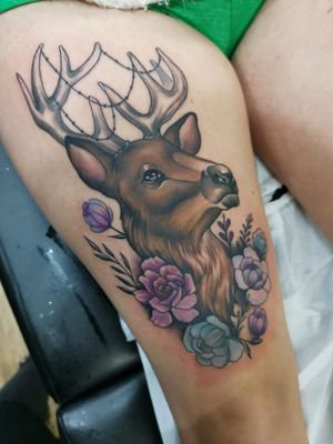 Tattoo by Crown of thorns