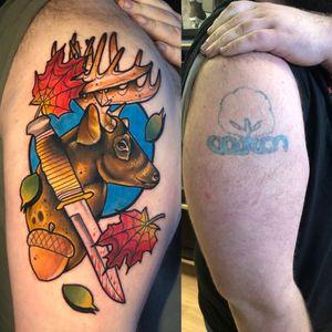 Tattoo from @aspraguetattoo