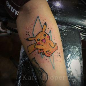 #pokemon #Pikachu #geektattoos #nerdtattoo #cute #kawaii #london #london