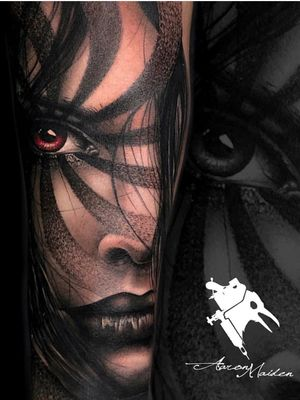 Tatuaje realizado por nuestro artista @aaronmaidentattoo en Model Ink . #tattoo #tatuaje #tatuagem #tattooartist #tattooart #realistic #realism #ink #Tattoodo #blackAndWhite #thebesttattooartists #thebestspaintattooartists #worldfamousink #realismo #valladolid