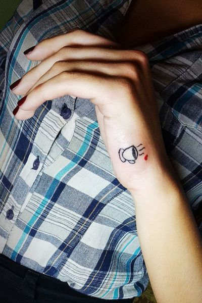 #tattoo #coffee #coffeelover #coffeecup #girl #minimal #minimalist #minimalistic