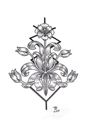#flower #linework