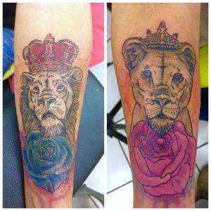 Match tattoo