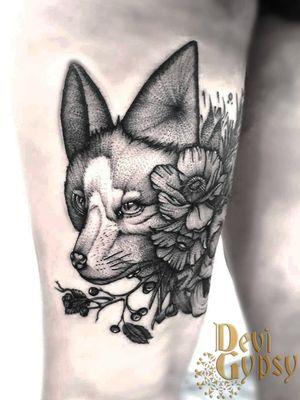 Desenho autoral feito na Expo Tattoo Floripa 2018.