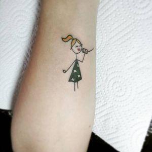 #тату #друзья #trigram #tattoo #friends #inkedsense #tattooist #кольщик