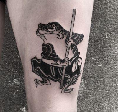 #frog #frogtattoo #japanesetattoo