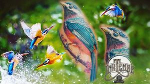 PETIT OISEAU COULEUR 🐦 Pour plus d'informations contactez nous en message privés 📲, par téléphone 📞 ou directement au studio 🏠 INKTENSE 352 TATTOO STUDIO 2-4 Rue Dr. Herr Ettelbruck 🇱🇺 ☎️ +352 2776 2492 #inktense352tattoo #inktense352 #ettelbruck #luxembourg #luxembourgtattoo #tattooluxembourg #color #colortattoo #animal #animaltattoo #bird #birdtattoo #art #artist #illustration #tattoo #tattoostudio #tattoos #ink #tattooist #inkedboy #inked #inkedgirl #tattooed #tattooedboy #birds #tattooedgirls #realist #realistic #realistictattoo