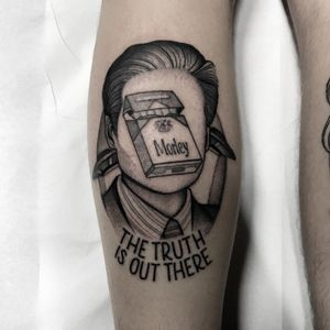 #totemica #tunguska #black #foxmulder #xfiles #thetruthisoutthere #scullyitsme #tattoo #originalsintattooshop #verona #italy #blacktattooart #tattoolifemagazine #tattoodo #blackworkers