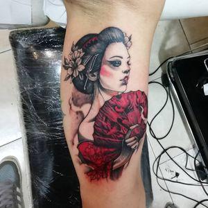 #geisha #geishatattoo #japanesegirl #japan #japantattoo #geishatattoos #colortattoos #inked #inkedgirls #inklife #geishas #giapponesetattoo #sleevetattoo #innerarmtattoo #coloredtattoo #besttattoos #tattooforgirls #tattooidea #photooftheday #picoftheday  #japangirl #geishaart #girltattoo #romatattoo #italiantattoo #italiantattooartist #romatattooartist #geisha舞妓 #geishagirls #delightneedles
