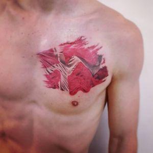 #тату #флаг #trigram #tattoo #flag #inkedsense #tattooist #кольщик
