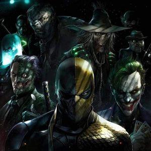 Deathstroke and other Batman villains