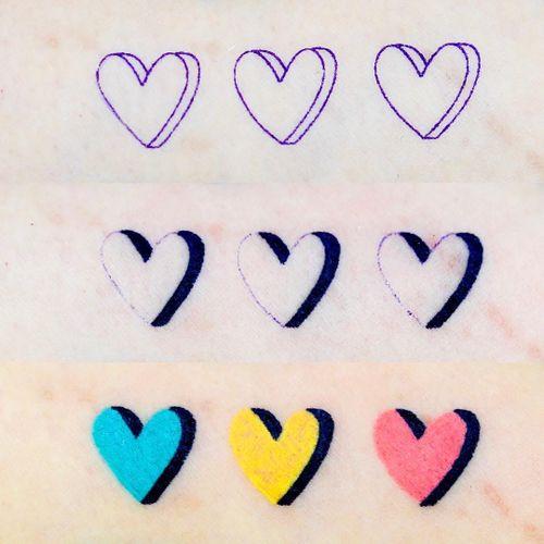 Tattoo by Zzizzi #Zzizzi #valentinesdaytattoos #valentinestattoos #valentinesday #valentines #love #handpoke #heart
