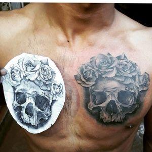 #killerink #blackandgreytattoo #realistictattoo #inked #instaart #bishoptattoomachine #tattoo #tattooartist #likeforlike #followforfollowback #likeforfollow @olivier_philippe_art