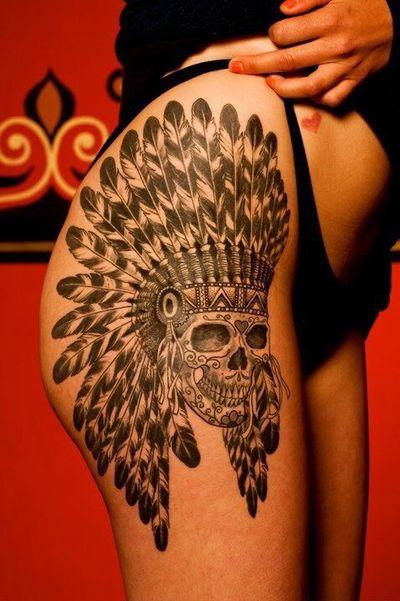 #skull #native #indian