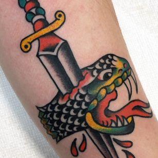 Tattoo by Daniel Tooker #DanielTooker