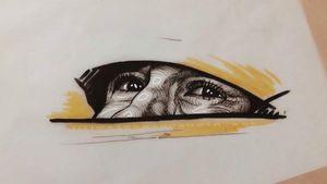 Ayrton Senna ink drawing ☀️