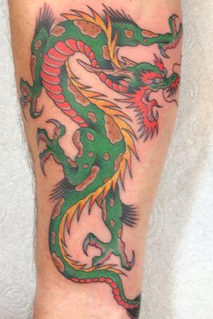 Ed hardy design Re-Drawn & Tattoo by Kev
