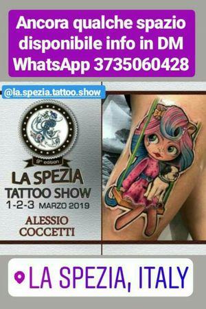 POSTI DISPONIBILI PER IL @TATTOOSHOWSLASPEZIA INFO 3735060428 WHATSAPP @dharmatattooroma #tattoo #tatuaggio #tatuaje #tattooed #bodyart #tattoosnob #tattooartist #italiantattooartist #inkedmagitaly #skinartmag #tattooitalia #iltatuaggioitalia #tatuatoriitaliani #supportgoodtattooing #tattooworkers #tattoodo #tattooroma #newschooltattoo #sbirulotattoo #stickerstattoo #sticker #laSpezia #liguria #tattooshowlaspezia