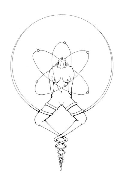 SAA (cosmos) #nude #blackandwhite #selflove #femininity #sexpression #mybody #drawing #drawings #pen drawing #esctatic #ecstasy #sexuality #love #flywithme #freeofexpression #love_natura #infinite #psychedelic #infinity #amsterdam #amsterdamtattoo #tattoo #womanempowerment