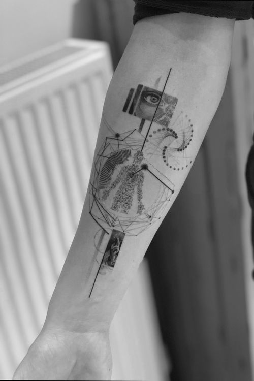 #blackandgrey #Black #blackwork #Tattoodo #alianilercel