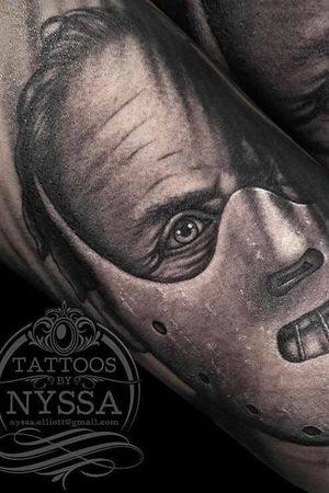 Very cool Hannibal Lecter from Nyssa