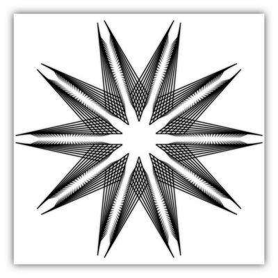 Dark lines mandala in dark star #geometrictattoo #blackandwhite #blackink #black #tattoo #wall #instaink #geometry #tangle #lines #mandala #mandalart #zendala #inked #wallpaperdecor #artwork #blackink #art #instagram #instablackandwhite #zentangle #dark #design #origami #graphicdesign #artist #paris #blancoynegro #lines #tatuaje #idea